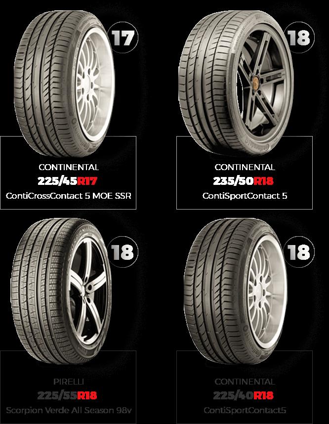 venda de pneus run flat